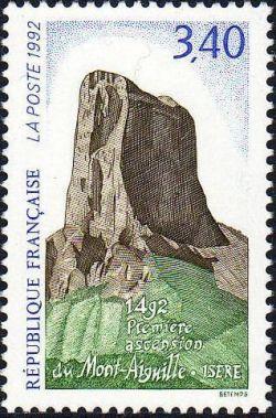 1492 première ascension du Mont Aiguille (Isère)