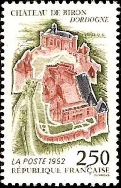 Chateau de Biron (Dordogne)
