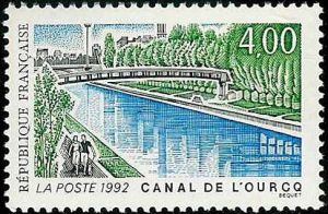 Le canal de l'Ourcq