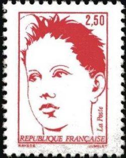 Bicentenaire de la proclamation de la république, dessin original de Martial Raysse