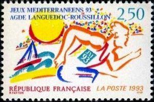 Jeux méditérranéens 93 - Agde (Languedoc-Roussillon)