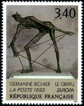 Europa -  « Le griffu » de Germaine Richier