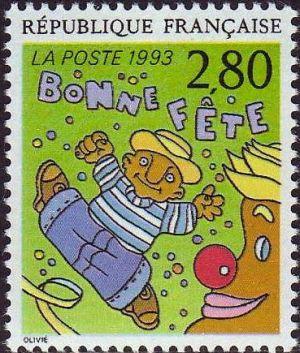 Le plaisir d'écrire vu par Bernard Olivier «Bonne fête»