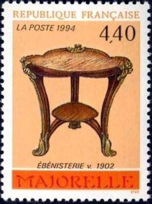 Arts décoratifs - Ebénisterie de Majorelle