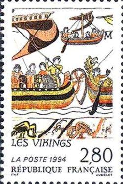 Relations culturelles France-Suède - Tapisseries de Bayeux - Les Vikings