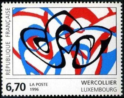 Oeuvre originale de Wercollier (Luxembourg)