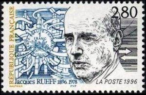 Centenaire de la naissance de Jacques Rueff (1896-1978)