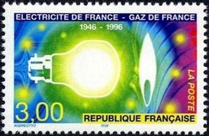 Electricité de France, Gaz de France