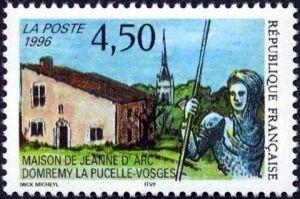 Maison de Jeann d'Arc à Domrémy-le Pucelle (Vosges)