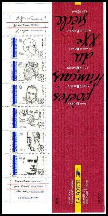 La bande carnet poètes français