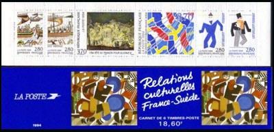 La bande carnet : Relations culturelles France-Suède