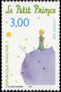 timbre N° 3177, Antoine de Saint-Exupéry « Le Petit Prince » PhilexFrance 99 exposition philatélique internationale