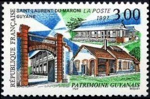 Patrimoine Guyannais : Saint Laurent du Maroni