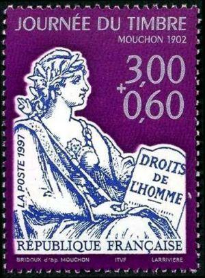 Journée du timbre, Le Mouchon 1902
