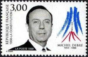 Michel Debré (1912-1996) Premier Ministre de la Vème République il dirigea la rédaction de la Constitution