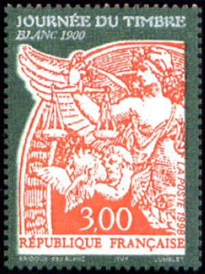 Journée du timbre Le type Blanc de 1900
