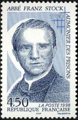 50èm anniversaire de la mort de l''Abbé Franz Stock (1904-1948) aumônier des prisons