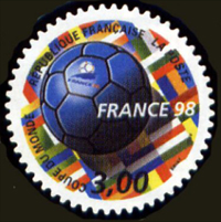 Autoadhésif  France 98 coupe du monde de football