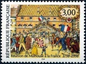 Réunion de Mulhouse à la France 1798-1998, Bicentenaire