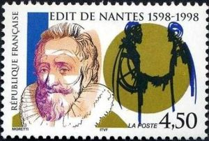 400èm anniversaire de la signature de l''Edit de Nantes