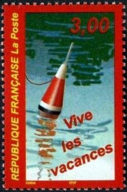 timbres vive les vacances timbres de france mis en 1999. Black Bedroom Furniture Sets. Home Design Ideas