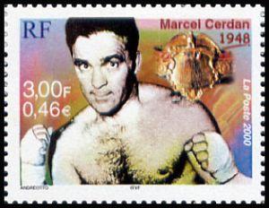 Marcel Cerdan (champion du monde des poids moyens en 1948)