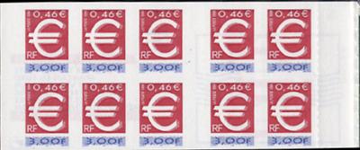 La bande carnet :  Le timbre Euro