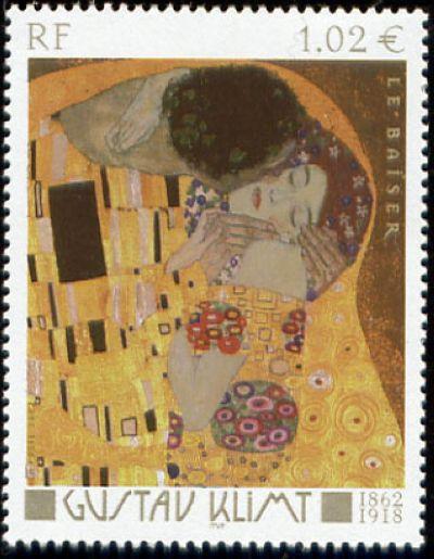 « Le baiser » de Gustav Klimt (1862-1918)