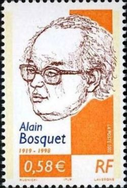 Alain Bosquet (1919-1998), poète et écrivain français d'origine russe