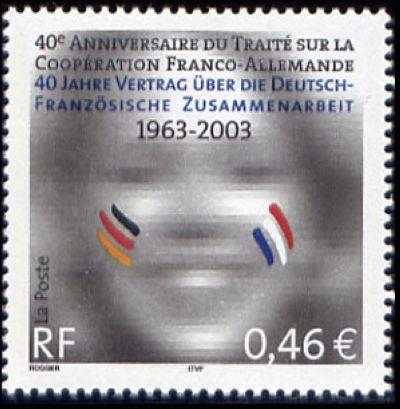 40em anniversaire du traité de coopération franco-allemand