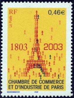 Bicentenaire de la chambre de commerce et de l'insdustrie de Paris