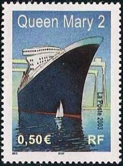 Le Queen Mary 2  construit à Saint-Nazaire