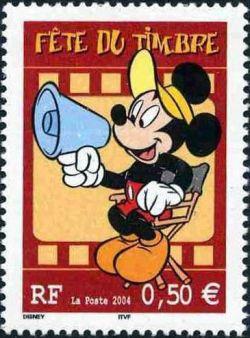 Fête du timbre, Mickey