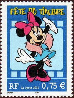 Fête du timbre, Minnie