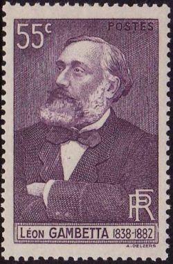 Leon Gambetta (1838-1882)