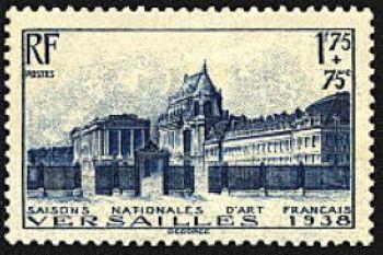 ' Cours d''honneur du chateau de Versailles '
