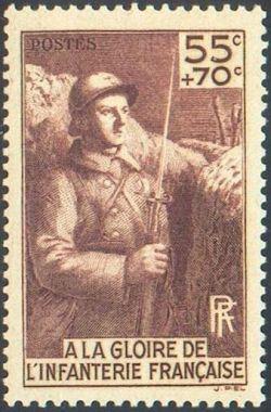 ' A la gloire de l''infanterie française '