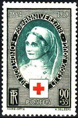Croix rouge - 75ème anniversaire de la fondation