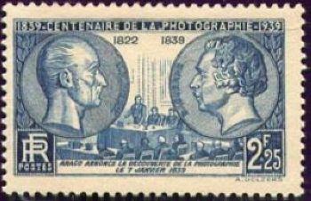 Centenaire de la photographie 1839-1939 - Nicéphore Niepce (1765-1833) et Louis Daguerre (1787-1851)