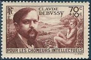 Claude Debussy (1862-1918) compositeur français