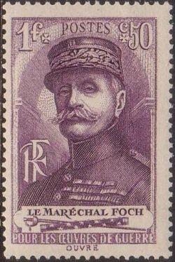 Maréchal Foch (1851-1929), général en chef des troupes alliées