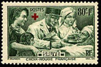 Croix rouge - Au profit des blessés