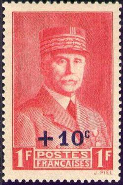 Effigie du Maréchal Pétain