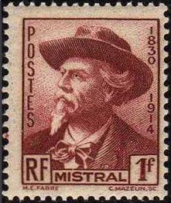 Frédéric Mistral (1830-1914) écrivain et lexicographe français de langue d'oc