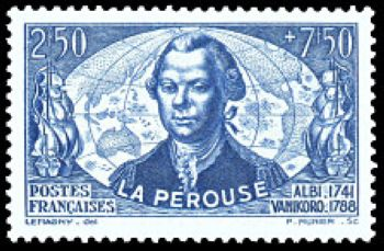 La Pérouse(1741-1788) officier de marine et un explorateur français.