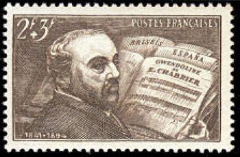 Emmanuel Chabrier (1841-1894) compositeur romantique français