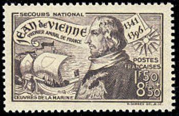 Jean de Vienne (1341-1396) Amiral de France
