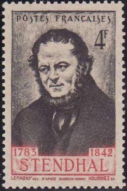 Stendhal (1783-1842) écrivain français