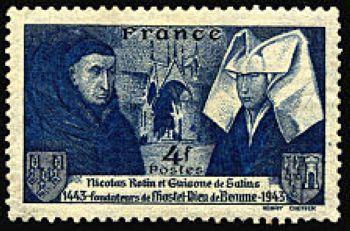 Nicolas Rolin (1380-1461) et Guigone de Salins fondateurs de l'Hôtel Dieu de Beaune