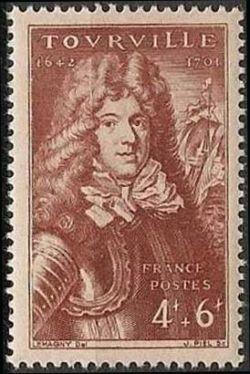 Marechal Anne-Hilarion de Cotentin comte de Tourville (1642-1701)